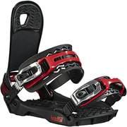 Head FLATBED 4D_SpeedDisc snowboard kötés, Black