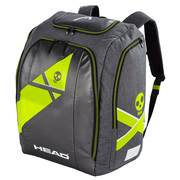 Head Rebels Racing Backpack L túrahátizsák, Anthracite/yellow