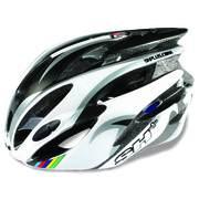 SH+ NATT, Férfi biciklis védősisak, Black/white