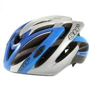 SH+ SPEEDY, Férfi biciklis védősisak, Blue/silver