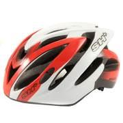 SH+ SPEEDY, Férfi biciklis védősisak, Red/white